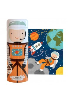 (Pre Order ) Petit Collage -64-Piece Tin Puzzle & Coin Bank