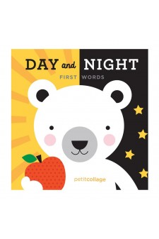 (Pre Order ) Petit Collage -Day & Night First Words Board Book