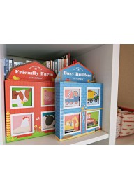 (Pre Order ) Petit Collage - Mini Library Book Set