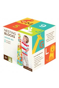 (Pre Order ) Petit Collage -Nesting Blocks