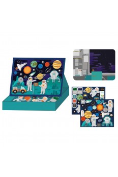 (Pre Order ) Petit Collage Magnet Play Scene Outer Space