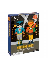 (Pre Order ) Petit Collage Magnetic Dress Up -Superheroes