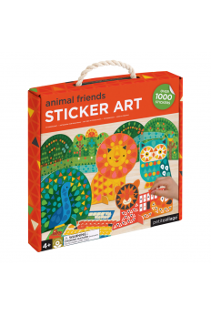 (Pre Order ) Petit Collage Mosaic Sticker Art Animal Friends  (Over 1000pcs)