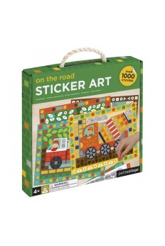 (Pre Order ) Petit Collage Mosaic Sticker Art On the Road (Over 1000pcs)