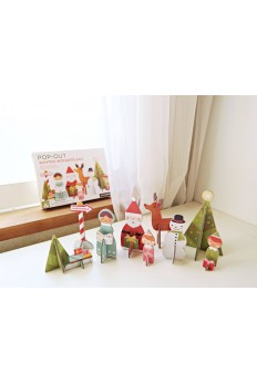 (Pre Order ) Petit Collage Pop-Out & Play