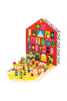 (Pre Order ) Petit Collage Nativity Advent Calendar