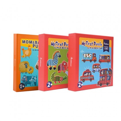 [Pre Order] Mideer My First Puzzle-Mom & Baby