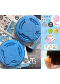 [Pre Order ] Japan Marna Foldable Kid Cup 多功能動物矽膠收納杯/摺疊杯