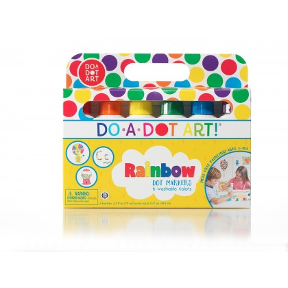[PRE ORDER] Do-A-Dot-Art Rainbow 6 Pack Dot Markers