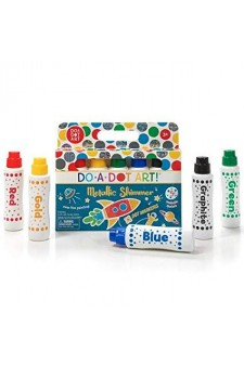 [PRE ORDER] Do-A-Dot-Art Metallic Shimmer 5 Pack Dot Markers