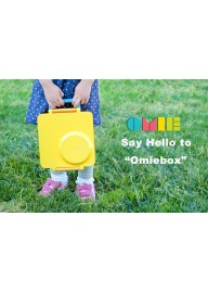 [PRE ORDER] OmieBox Bento Lunch Box for Hot & Cold Food | 3 Compartments, Two Temperature Zones + Thermos Food Jar for Kids - Leak-Proof and Insulated