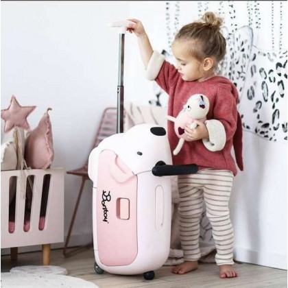 [Ready Stock ] Bontoy Traveller 2-in-1 Kindertrolley kids suitcase