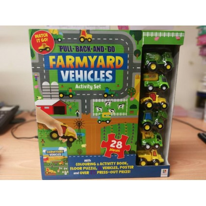 [Ready Stock ] Hinkler Pull and Go Floor Puzzle & Book Set