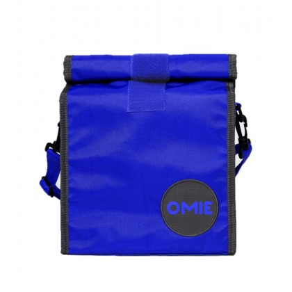 [PRE Order] OmieBox Lunch Bag - Washable Rolltop Reusable Nylon Lunch Tote with Secure Closure and Adjustable Strap