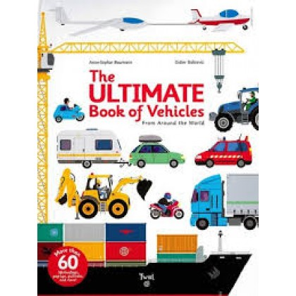 [Ready Stock ] The Ultimate Book of Vehicles : From Around the World