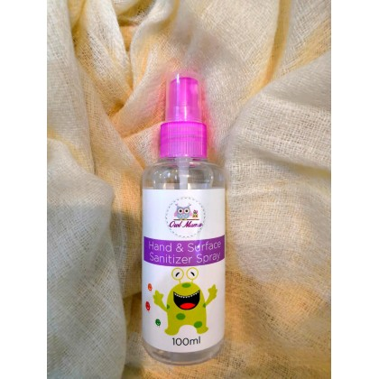 [Ready Stock ] Owlmama Hand Sanitizer 100ml   (Buy 4 Bottle  FREE 1 Bottle )